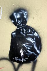 Italy. Naples- garbage street art
