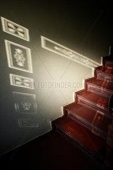 Treppe und Schatten