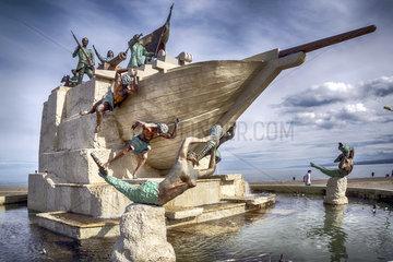Denkmal Goleta Ancud