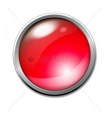 Button Rot Rotlicht Stopp Halt Symbol