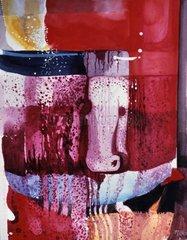 Campari-Soda abstrakt