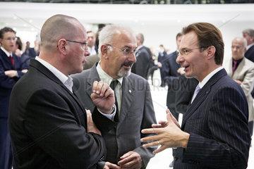 IAA 2009 - Michael Macht  Berthold Huber und Uwe Hueck