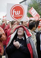 Bundestagswahlkampf 2009 - SPD Kundgebung mit Frank-Walter Steinmeier und Hannelore Kraft