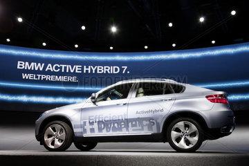 IAA 2009 - Vorstellung des BMW Active Hybrid 7