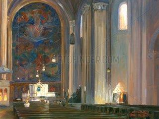 Serie Muenchen Ludwigskirche