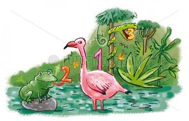 Dschungel Tiere Kindergeschichten