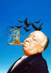 Alfred Hitchcock Krimiautor Prominenter Schriftsteller Regisseur