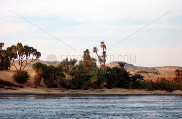 _gypten Nil Ufer Libysche Wueste