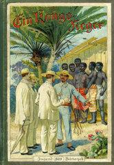 Ein Kongo Neger  Buchtitel  Jugendbuch  1895