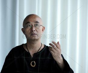 Berlin  Deutschland  der Kuenstler Liao Yiwo  auch bekannt als Lao Wei