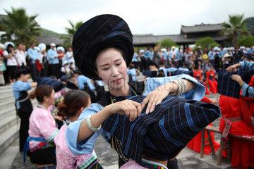 #CHINA-GUIZHOU-TRADITIONAL WEDDING(CN)