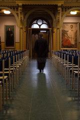 Berlin  Deutschland  eine Pastorin verlaesst die Kirche