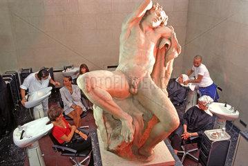 Friseursalon Le Coup von Gerhard Meir  Starfriseur  Muenchen  1995