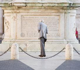 Rom  Reiterstandbild des Kaisers Marc Aurel