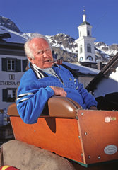 Robert Schwan  Beckenbauer-Manager  Sils Maria  1995