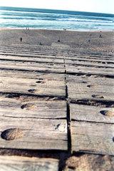 Portugal  Cascais  Holzsteg