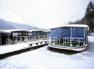 Kroatien  Plitivce  Winter