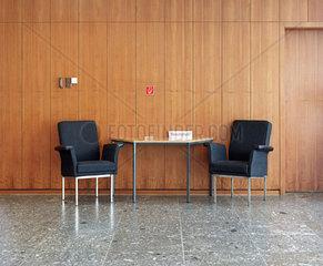 Flurbereich  Landtag  Wiesbaden  Hessen  Deutschland