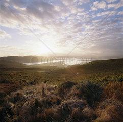 Suedafrika  Lagune von Knysna