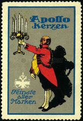 Apollo Kerzen  Werbung  1912