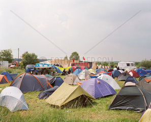 Camp Reddelich waehrend des G8-Gipfels