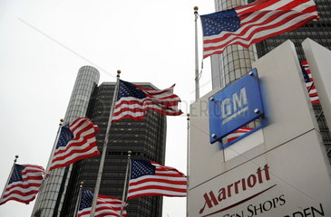 USA: GM in Detroit