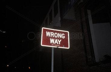 Falscher Lebensweg