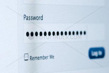 Passwortfeld persoenlich