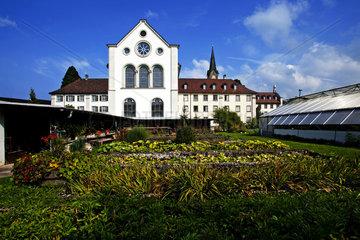 Klostergarten von Kloster Mehrerau  Bregenz