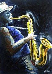 Saxophonist Saxophon Jazz Jazzmusiker Musiker 1