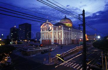 Das Teatro Amazonas im brasilianischen Manaus