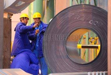 China  Tangshan  Jingtang Stahlfabrik
