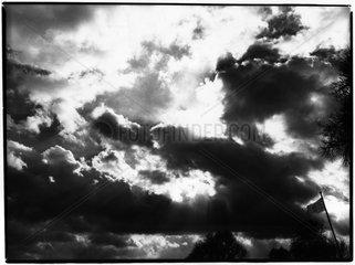Dramtische Wolkenbildung