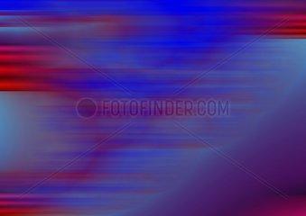 Hintergrund verzerrt blau rot Schnell Geschwindigkeit