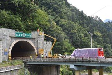 CHINA-SHAANXI-EXPRESSWAY ACCIDENT (CN)