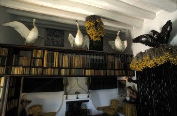Inneneinrichtung im Haus von Salvador Dali in Spanien