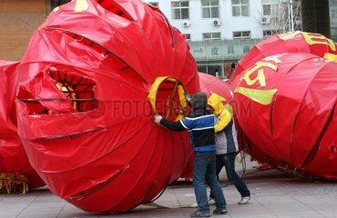China  verheerender Sturm