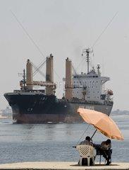 Aegypten Suez Kanal