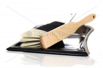 Handfeger mit Kehrblech