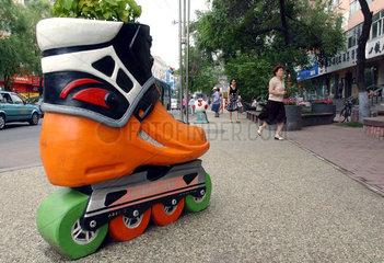 China  Skulpturen als Touristen-Attraktion