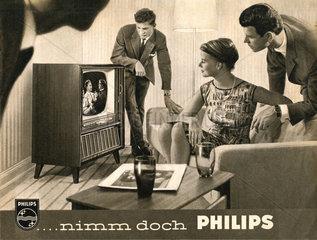 Philips Fernseher  1958