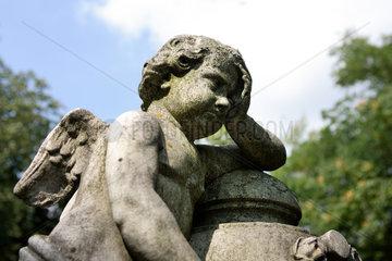 Berlin  eine Grabfigur
