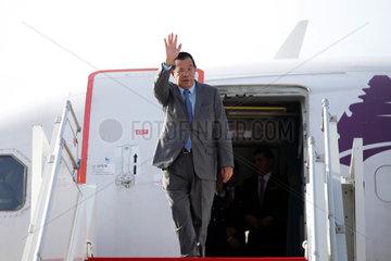 CAMBODIA-PHNOM PENH-PM-LAOS-VISIT