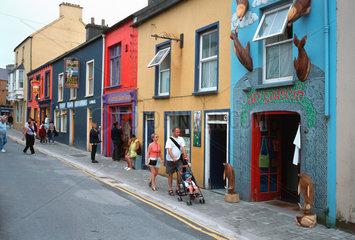 Irland  Dingle Halbinsel  Kleinstadt Dingle