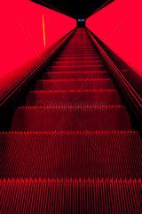 Rolltreppe abwaerts
