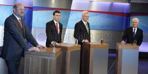 Spitzenkandidaten Landtagswahl in Baden-Wuerttemberg