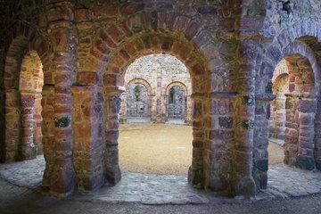 rom. Tempel von Lanleff  Bretagne  France