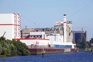 Fabrik und Firmensitz von Kellog's  Bremen