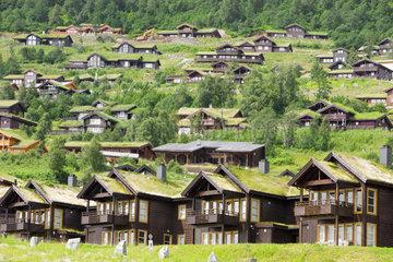 Huettengebiet in Norwegen