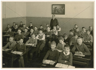 Jungenklasse 1920